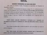 Assembleia de Freguesia  - 29 de Junho de 2020